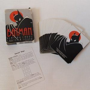 Vintage Batman The Animated Series Playing Cards